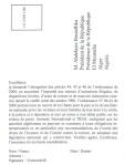 Amnesty et TRIAL : texte de la carte à envoyer au président Bouteflika