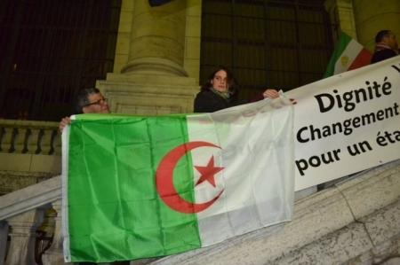 Une autre Aude, citoyenne genevoise témoignant sa solidarité avec les peuples arabes en lutte pour la démocratie