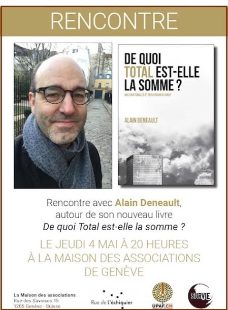 Rencontre avec Alain Denault